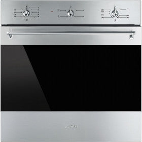 Smeg SF6341GVX 60cm Classic Gas Fan Oven with Electric Grill in Stainless Steel