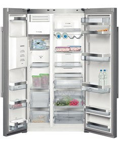 Siemens American style fridge freezer KA62DP92GB-Stainless steel