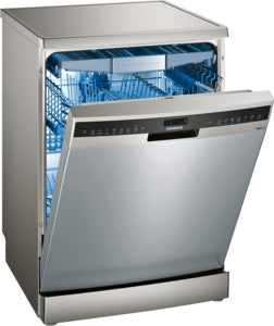 Siemens SN258I06TG, 60cm dishwasher, freestanding, stainless steel.