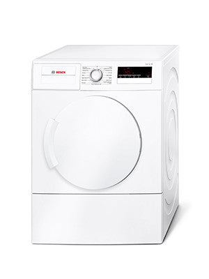 Bosch WTA79200GB Vented Tumble Dryer, freestanding, white