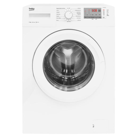 BEKO WTG821B2W 8kg washing machine, white