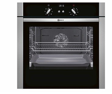 NEFF B44S53N5GB single oven, built-in. slide & hide door.