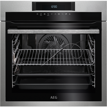 AEG BPE742320M SINGLE OVEN, BUILT-IN, Pyrolytic cleaning.