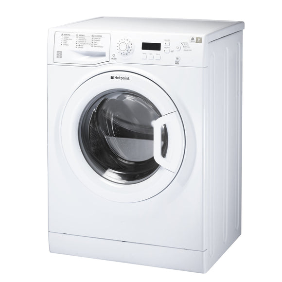 Hotpoint WMEUF944P washing machine, freestanding