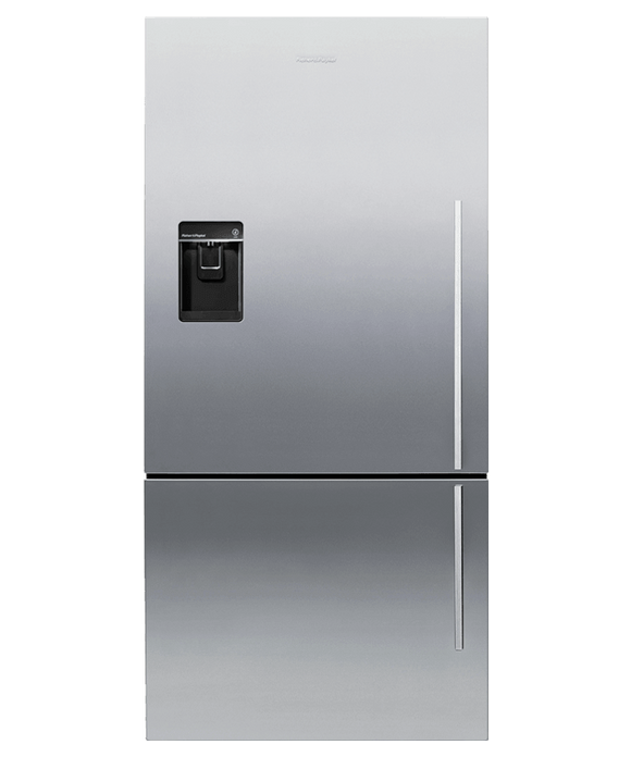 FISHER & PAYKEL E522BLXFDU4 ActiveSmart™ Fridge - Bottom Freezer with Ice & Water 469L