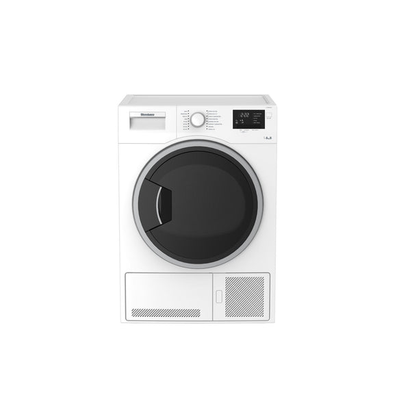 Blomberg LTK28021W Condenser Tumble dryer, freestanding, white.