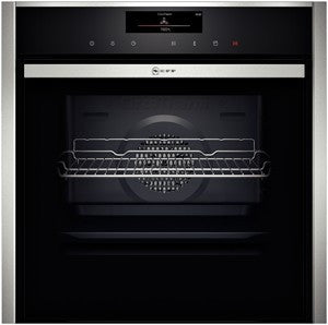 Neff B58VT68N0B SLIDE & HIDE SINGLE PYROLYTIC OVEN