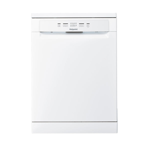 Hotpoint HEFC2B19C dishwasher, freestanding, white