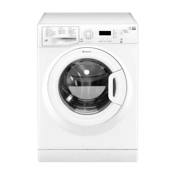 Hotpoint WMEUF743P UK washing machine, white