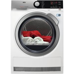 AEG T8DEE945R Tumble dryer, white