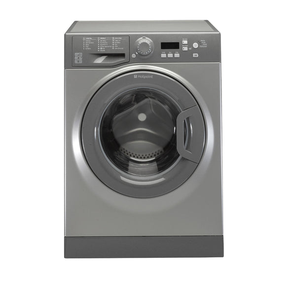Hotpoint WMEUF743G Washing machine, freestanding, graphite