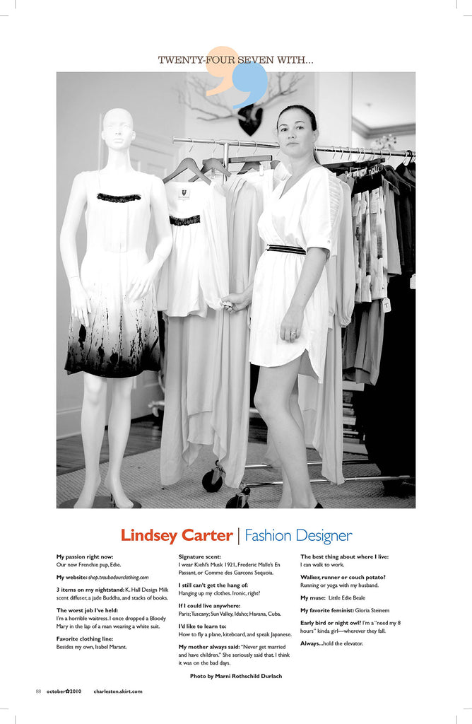 Lindsey Carter Fashion Designer