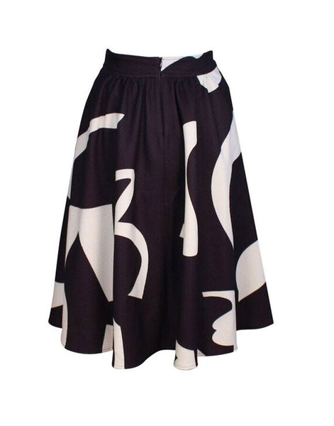 Hol15 Matisse Party Midi Skirt