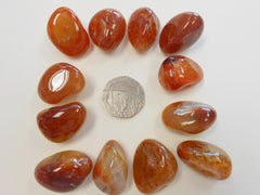 Agate, Fire (China) tumblestone