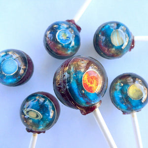 3D edible image lollipops