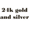 luxury line 24k gold and silver candy