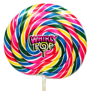 Whirly Pop Giant Rainbow Swirl Sucker