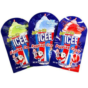 ICEE Dip-n-lik Popping Candy with Lollipop