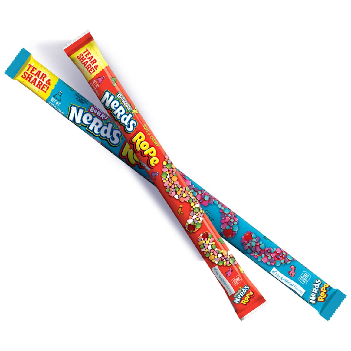 Nerds Rope Candy - Very Berry or Rainbow