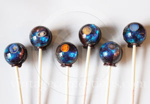 Total Universe 3D Planet lollipops®