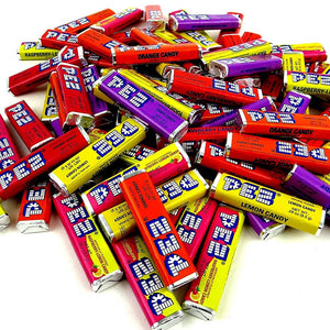 PEZ Candy Refills - Assorted Fruit Flavors by the POUND
