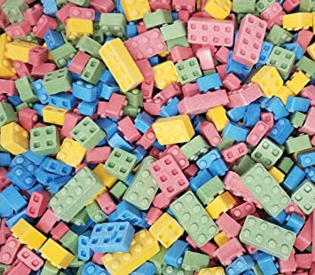 Candy Blox Building Blocks by the POUND