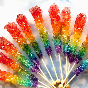 One Love, Rainbow Pride Rock Candy, 4pc set