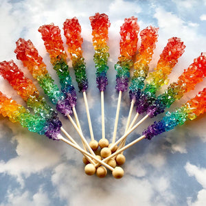 One Love, Rainbow Pride Rock Candy, 2pc set