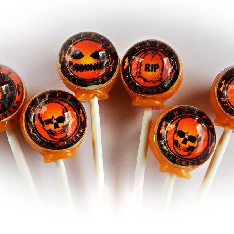 Spooky Halloween Seal lollipops By I Want Candy!