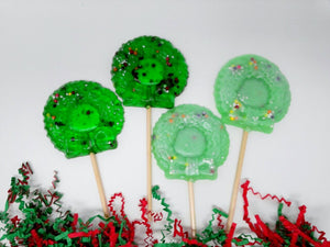 6pc Christmas Wreaths by I Want Candy!