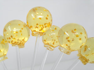Champagne celebration with edible stars by I Want Candy!