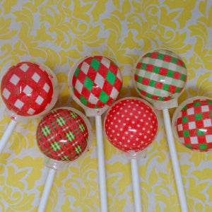 Vintage wrapping paper lollipops By I Want Candy!