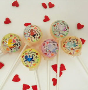 3D cupid lollipops by I Want Candy!