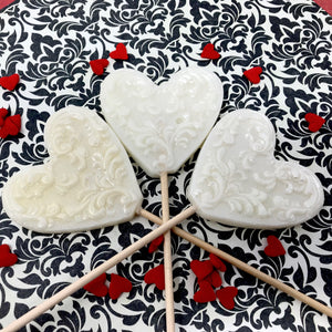 Filigree hearts by I Want Candy! (3pc)