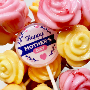 Mother's Day Edible 1/2 dozen rose bouqet By I Want Candy!