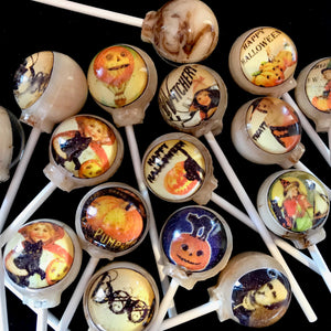 Witchery Treats, Edible image lollipop By I Want Candy!