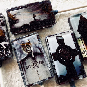 Gothic graveyard scene 5pc, set by I Want Candy!