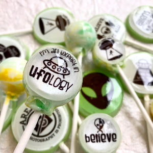 I Believe! edible image lollipop by I Want Candy!