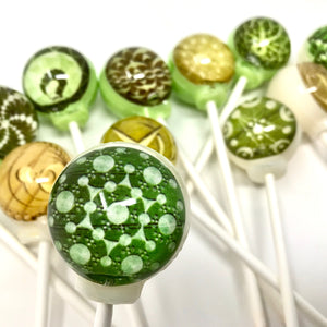 Mystical Crop Circles edible image lollipop by I Want Candy