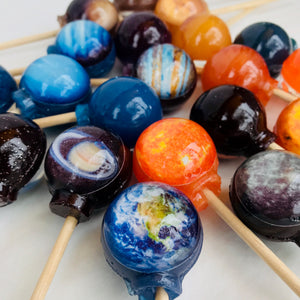 10pc Cosmic Planet Lollipop® by I Want Candy!