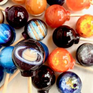 10pc Cosmic Planet Lollipop<sup>®</sup> by I Want Candy!