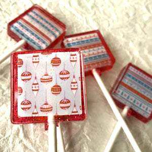 Ugly Sweater 5pc Lollipop set, By I Want Candy!