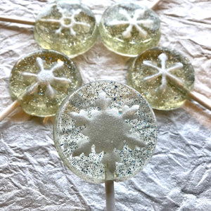Shimmer Snowflakes 5pc set, by I Want Candy!