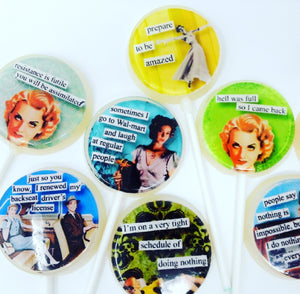 Brazen women lollipops by I Want Candy!