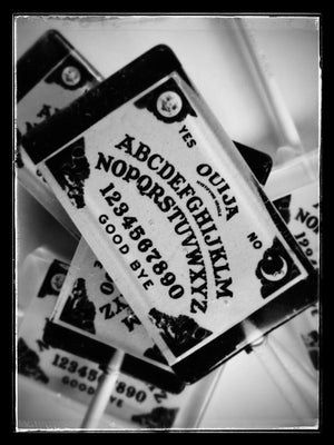 Ouija Board Rectangle Lollipops by I Want Candy!