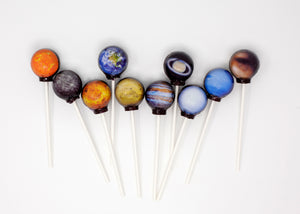 10pc Planet lollipops® by I Want Candy!