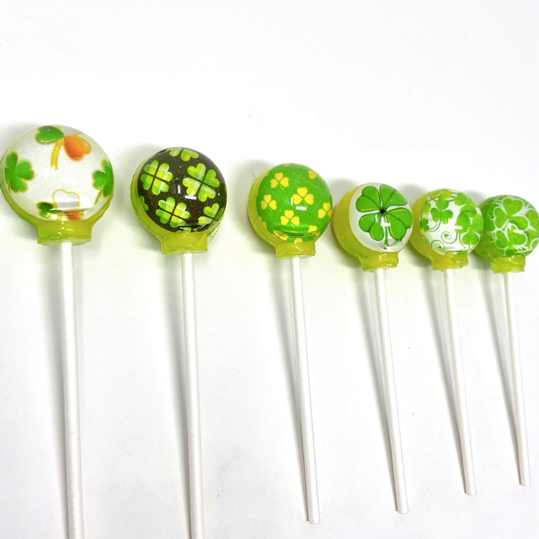 Luck 'o' the Irish set of 6 lollipops by I Want Candy!