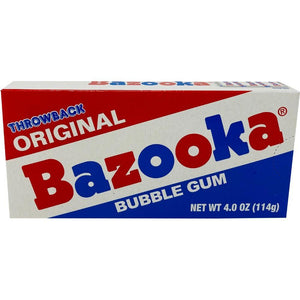 Bazooka Throwback Bubble Gum