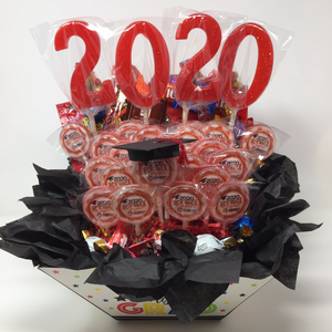 2020 Graduation Handmade Lollipop Basket