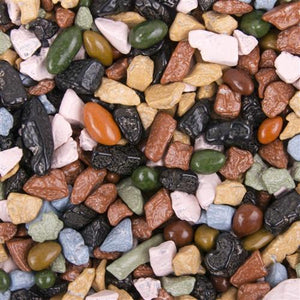 Chocolate Rocks color by the POUND